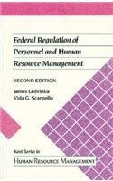 Federal Regulation of Personnel and Human Resource