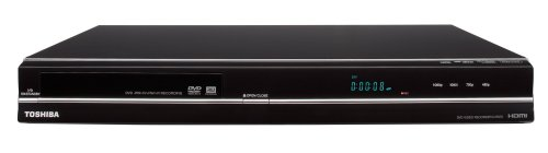 Toshiba DR420 DVD Recorder, Black