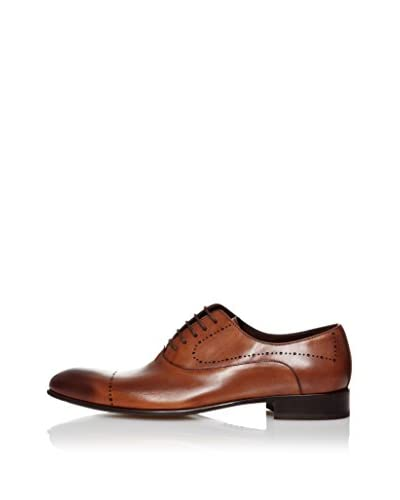 RRM Zapatos Oxford Puntera Tabaco
