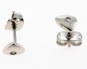 Ohrstecker Silber kleine Damen Ohrringe 2354d