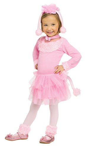 Pretty Poodle Toddler Costume (X-Large 4-6) front-914511