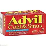 Advil Cold and Sinus Non-drowsy Caplet