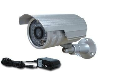 "Infrared Camera Wide Angle YY_F25A530 1/3"" Sony Superhad Color CCD DSP Waterproof Indoor/outdoor Infrared Illumination Nightvision 3.6mm Lens 5mm 30 Leds Camera Ip66 Silver (90 Degree Wide Viewing Angle) with Free Mounting Bracket"