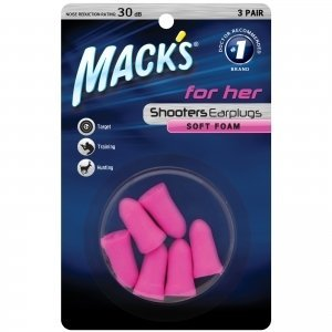 Read About Mack's Shooters for Her Foam (3-Pair) Blister Pack Earplugs