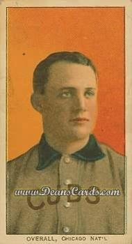 1909-t206-reprint-375-por-orval-overall-chicago-cubs-baseball-card-portrait-deans-cards-8-nm-mt