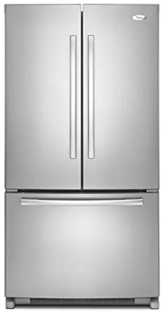 Whirlpool: GX5FHTXV 24.8 cu. ft. French Door Refrigerator with SpillProof Shelves, Factory Installed IceMaker and PuR Water Filtration System