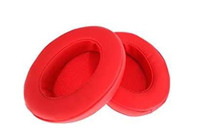 Brainwavz-Replacement-Memory-Foam-Earpads-Suitable-For-Many-Other-Large-Over-The-Ear-Headphones-AKG,-HifiMan,-ATH,-Philips,-Fostex-(Red)
