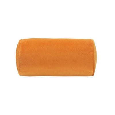 Flower Fantasy Neckroll Pillow Color: Orange front-161020