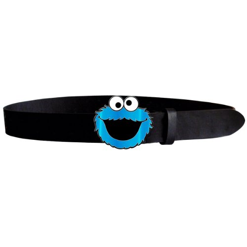 Sesame Street Cintura Belt Portabiscotti Cookie Monster Size M Bioworld