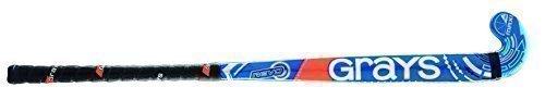 Grays Revo - Junior Spieler Holz Hockeyschläger Bunt - 36.5L, Blau