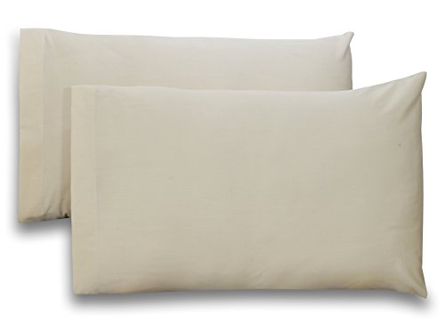 Queen-Pure-Cotton-Sateen-Pillow-Case-Covers-2-Pack-each-20-inches-x-30-inches-Beige-100-Cotton-for-Maximum-Softness-and-Easy-Care-Elegant-Double-Stitched-Tailoring-By-Utopia-Bedding