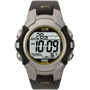 Timex Timex 1440 Sports Digital Full Size Silver/Black