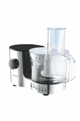 KENWOOD Compact FP126 1.4 Litre Food Processor - Chrome by Kenwood