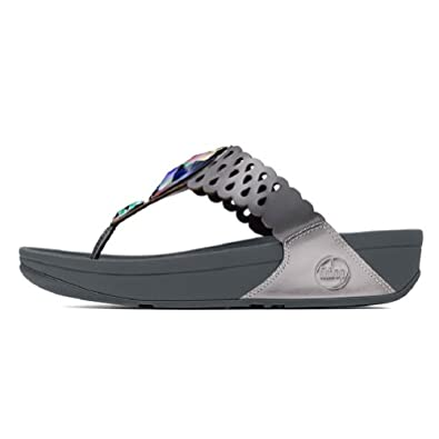 WOMENS FITFLOP BIJOOTM PEWTER (7)