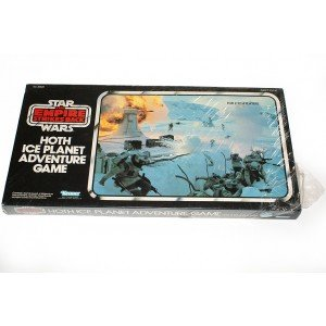 Other Board Games & Cards - Vintage Star Wars ESB Hoth Ice ...