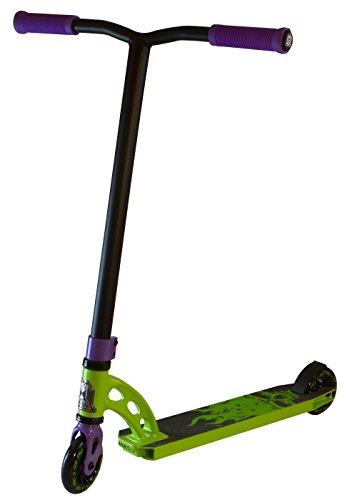 Madd Gear VX5 Pro Scooter, Green/Purple, 4.0-Inch Deck