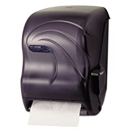 San Jamar T1190 Oceans Lever Roll Towel Dispenser, Fits 8\
