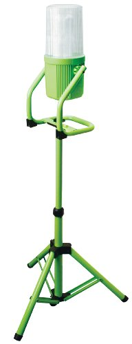 Designers Edge L2008 65-Watt 360-Degree Portable Fluorescent Work Light with Tripod, Green