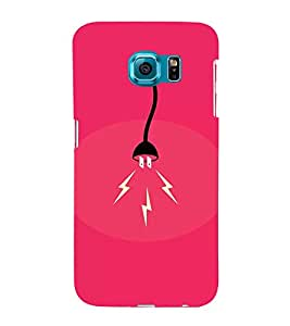 EPICCASE Shocker Mobile Back Case Cover For Samsung Galaxy S6 (Designer Case)