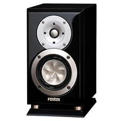 FOSTEX (フォステクス) コンパクトスピーカー GX100LIMITED-PB (ピアノブラック) 1本