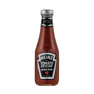 Heinz Limited Edition Tomato Ketchup Blended with Balsamic Vinegar - 14 Oz (Quantity of 6)