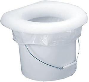 Amazon.com : Throne Portable Toilet Seat w/ Liner : Porta