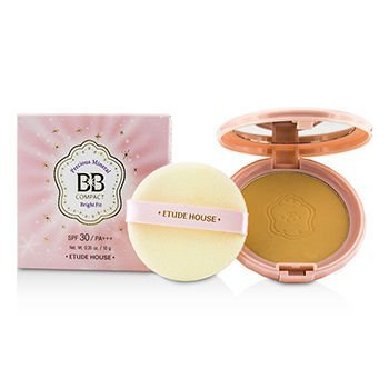[Etude House] Precious Mineral BB Compact Bright Fit SPF30 #N02 Light Beige by Etude House