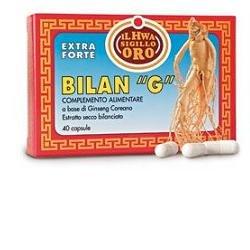 Ginseng Bilan-G Integratore Alimentare 40 Capsule