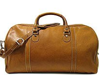 Floto Parma Leather Duffle Bag / Travel Bag by Floto