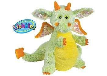 Webkinz Citrus Dragon YELLOW MULTI