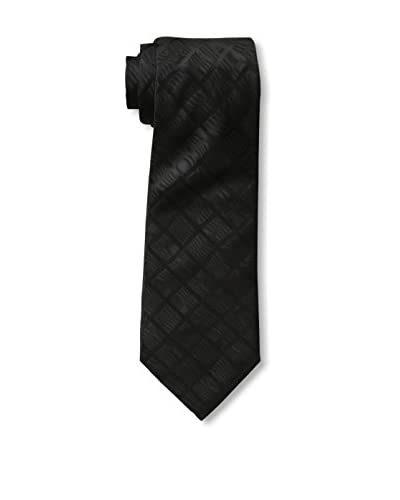 Valentino Men's Tonal Tie, Black