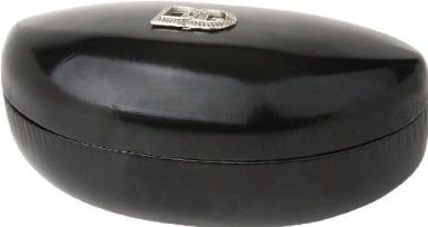 Dg Eyewear Black / Logo Sunglass Case / Clamshell / Hardcase / Oversized Case