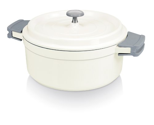 beka cook on round casserole lid 24cm 4 2l white shopping uk accessories. Black Bedroom Furniture Sets. Home Design Ideas