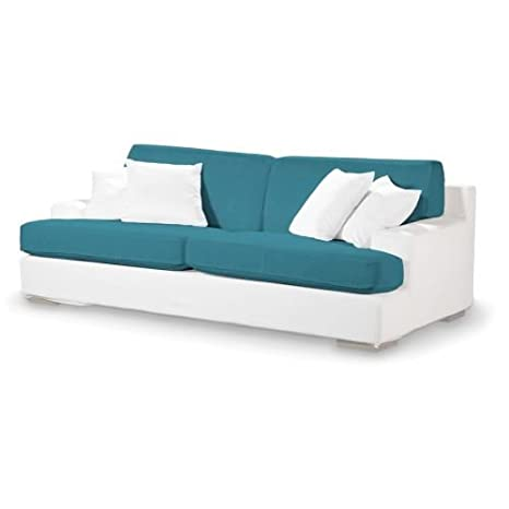 4-tlg. Sofa-Bezug-Set Etna Farbe: Turkis