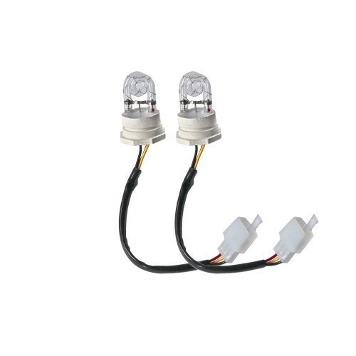 2 White Hide Away Strobe Tubes for 80w / 120w Kits Headlight Replacement Bulbs