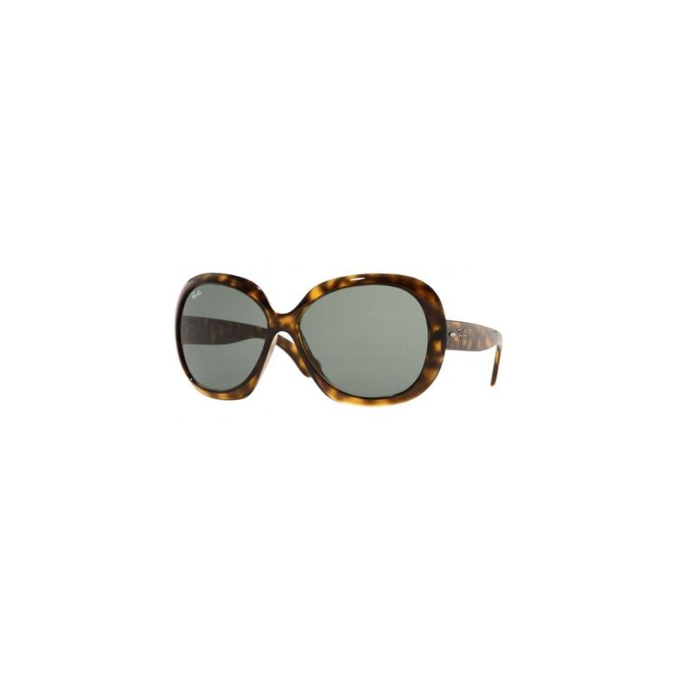 e73830ea2d Ray Ban RB 4098 JACKIE OHH II 710 71 Havana G 15 Green Lens Sunglasses