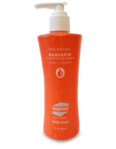 Soapbox Mandarin Liquid Hand Soap - 8 Oz. - 3 Pack!
