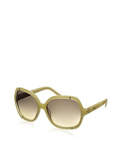 Chloé Women's CE619S Square Sunglasses, Honey