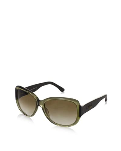 Chloé Women's CL2213 Sunglasses, Olive Khaki