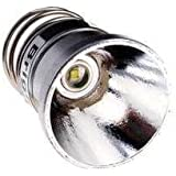 Happiness At Home® Flashlight Bulb LED Upgrade - 250+ lumens - CREE R2 5 Mode Drop-in - P60 design: Surefire, Hugsby, Etc.