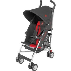 Maclaren Triumph Stroller - Charcoal/Scarlet