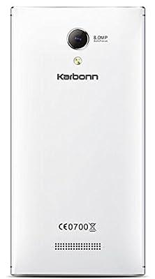 Karbonn s204 Dazzle (White)