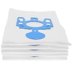 5 Staubsaugerbeutel als Alternative für Miele GN (Blau)