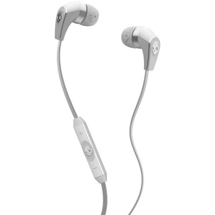 Skullcandy 50/50 Ear Buds With Mic3 For Phones - Retail Packaging - White