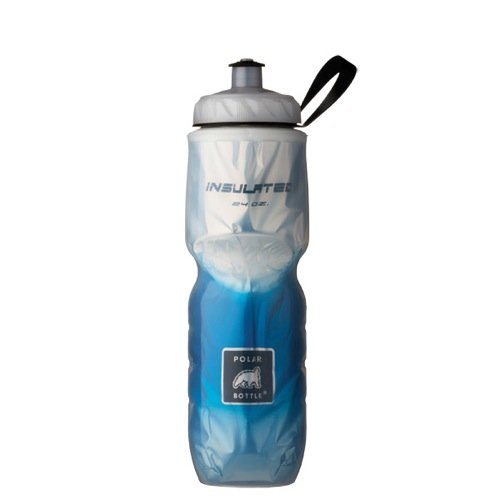 Polar Bottle Insulated Water Bottle (Blue Fade) (24 oz) - 100% BPA-Free Water Bottle - Perfect Cycling or Sports Water Bottle - Dishwasher & Freezer Safe (Polar Sport Bottle compare prices)