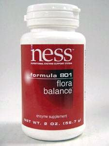 Ness Enzymes - Flora Balance #801 Powder 2 Oz