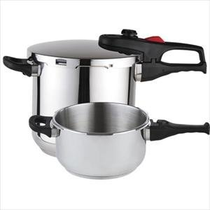 Magefesa Stainless 4&6 Qt. Super Pressure Cookers