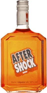 Aftershock Fizzy Orange Liqueurs