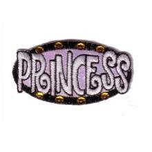 Embroidered Iron On Patch EP044 - Princess, Metallic - Buy Embroidered Iron On Patch EP044 - Princess, Metallic - Purchase Embroidered Iron On Patch EP044 - Princess, Metallic (Embroidered Iron On Patches, Apparel, Departments, Accessories, Women's Accessories)