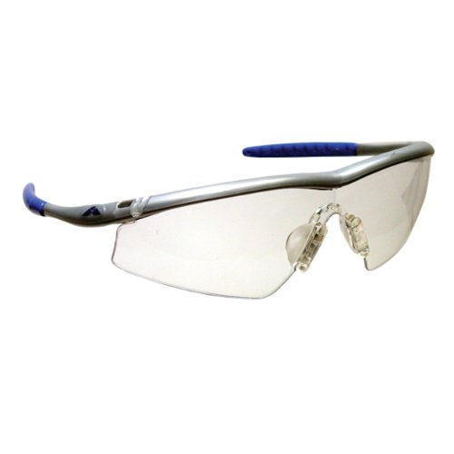 Mcr Safety Tm140 Tremor Sleek Hingeless Dielectric Safety Glasses With Steel Frame And Clear Lens